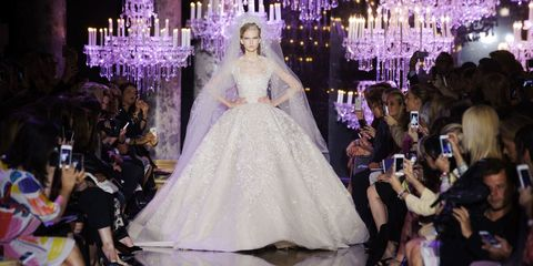 Watch Elie Saab's Spring 2015 Couture Runway Live
