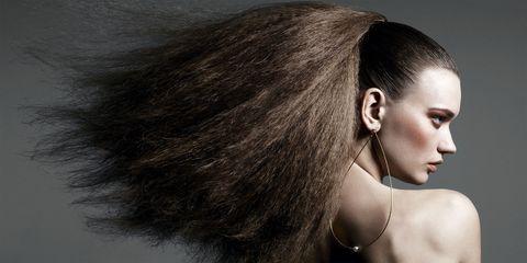 Hair, Hairstyle, Eyebrow, Eyelash, Style, Body piercing, Fashion accessory, Black hair, Beauty, Body jewelry,