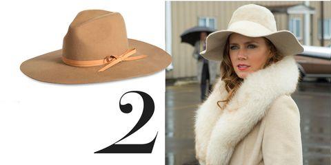 Hat, Brown, Headgear, Costume accessory, Fashion, Street fashion, Sun hat, Costume hat, Fur, Beige,