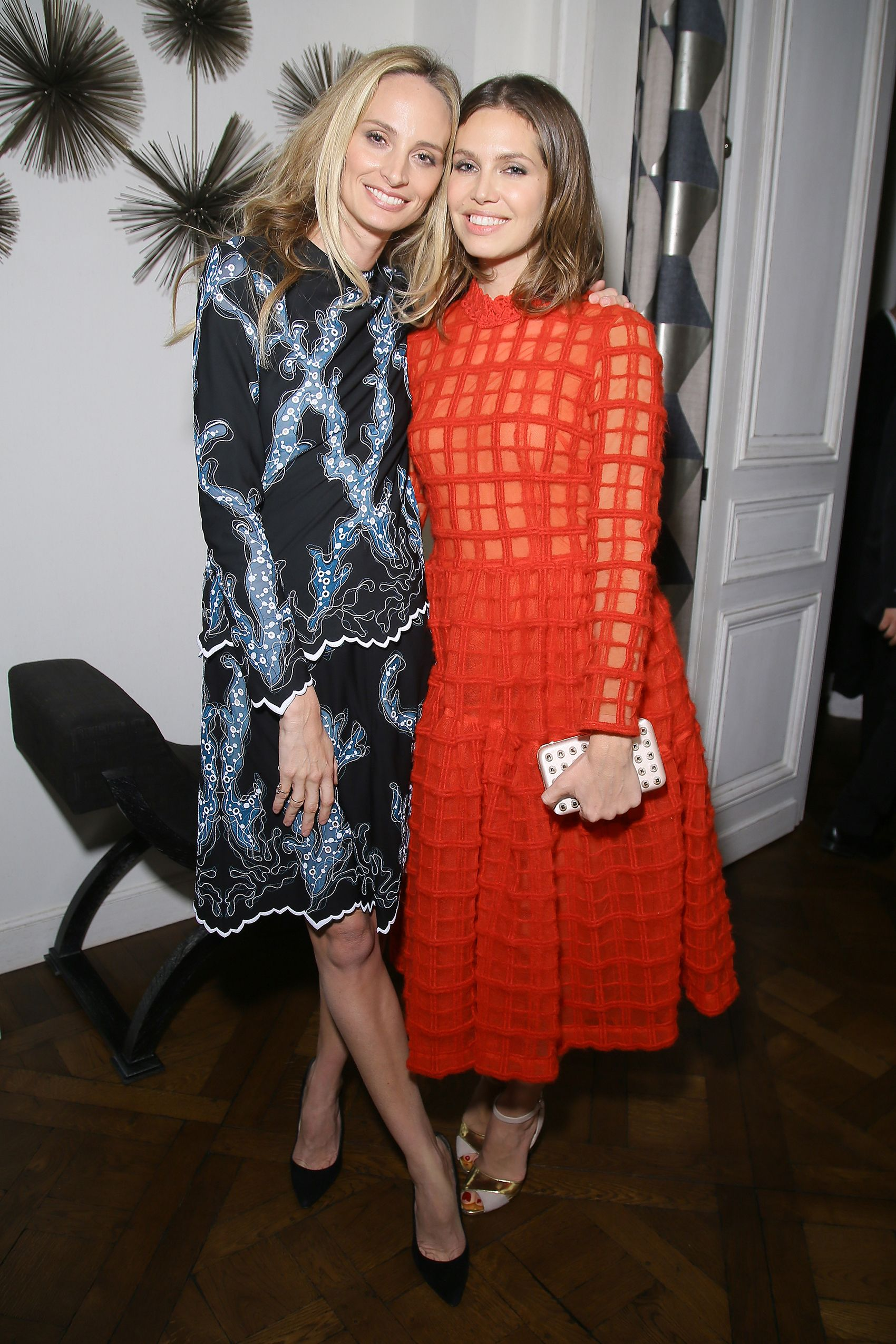 Lauren Santo Domingo and Dasha Zhukova