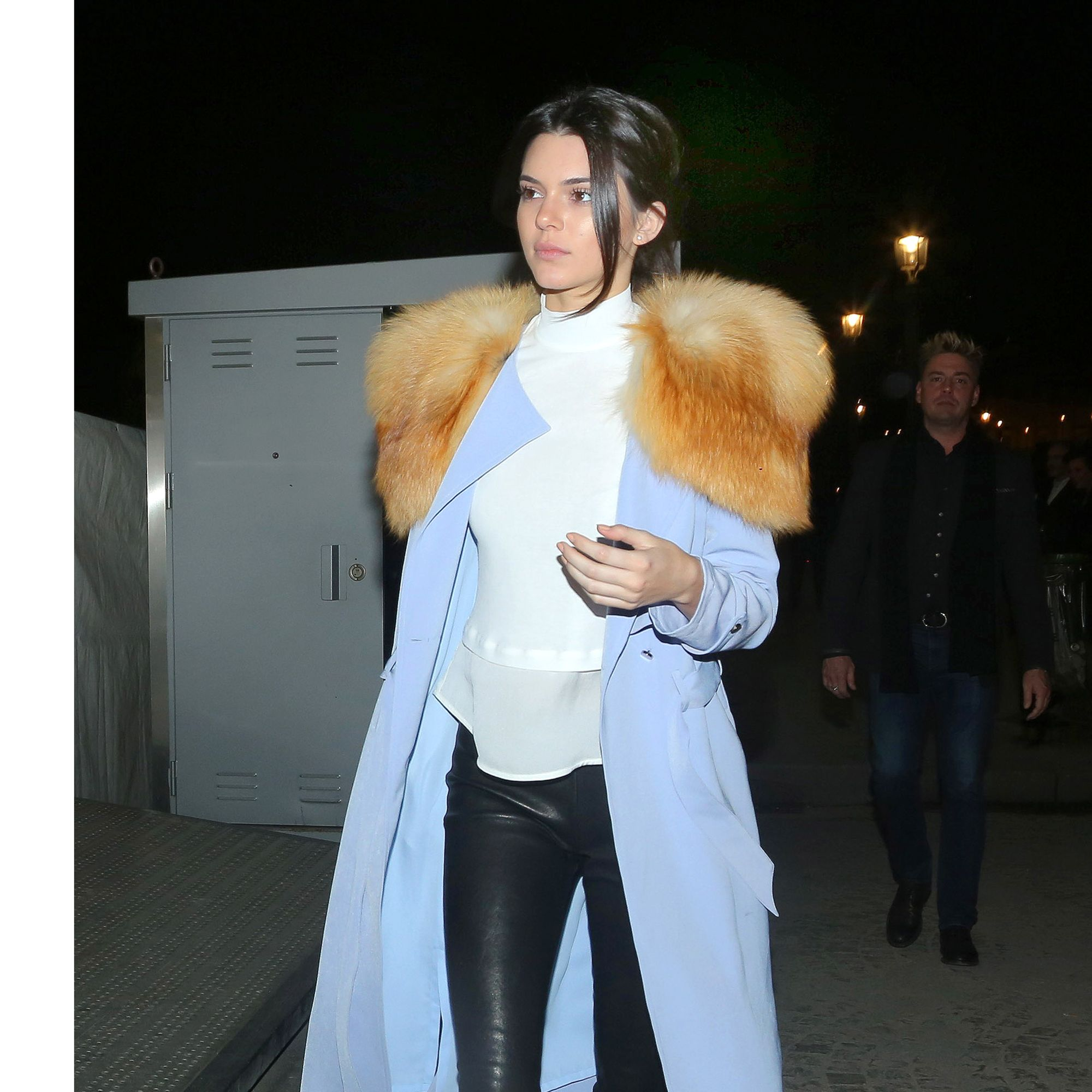 Kendall Jenner shows off her fashion style on a cold night in Paris at the Ferris Wheel with some fun and a flowing light blue jacket. The young model is in town for fashion week and enjoyed some downtime with her momager, Kris Jenner and some friends for a night on the Ferris Wheel overlooking Paris and the Eiffel tower.&#xA&#x3B;&lt&#x3B;P&gt&#x3B;&#xA&#x3B;Pictured: Kendall Jenner&#xA&#x3B;&lt&#x3B;B&gt&#x3B;Ref: SPL935713  250115  &lt&#x3B;/B&gt&#x3B;&lt&#x3B;BR/&gt&#x3B;&#xA&#x3B;Picture by: Brian Prahl / Splash News&lt&#x3B;BR/&gt&#x3B;&#xA&#x3B;&lt&#x3B;/P&gt&#x3B;&lt&#x3B;P&gt&#x3B;&#xA&#x3B;&lt&#x3B;B&gt&#x3B;Splash News and Pictures&lt&#x3B;/B&gt&#x3B;&lt&#x3B;BR/&gt&#x3B;&#xA&#x3B;Los Angeles:310-821-2666&lt&#x3B;BR/&gt&#x3B;&#xA&#x3B;New York:212-619-2666&lt&#x3B;BR/&gt&#x3B;&#xA&#x3B;London:870-934-2666&lt&#x3B;BR/&gt&#x3B;&#xA&#x3B;photodesk@splashnews.com&lt&#x3B;BR/&gt&#x3B;&#xA&#x3B;&lt&#x3B;/P&gt&#x3B;