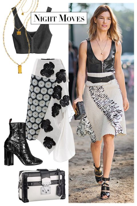 Product, Textile, White, Pattern, Fashion accessory, Style, Street fashion, Fashion, Dress, Black,