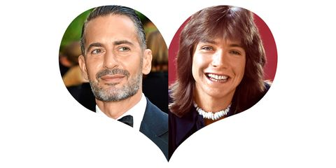 """<strong>Marc Jacobs: </strong>""""I had a crush on David Cassidy, from<em>&nbsp;The Partridge Family,</em>&nbsp;when I was a kid. He was hot. That shaggy haircut."""""""