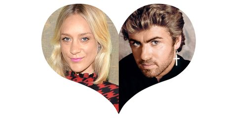 """<strong>Chloë&nbsp;Sevigny: </strong>""""George Michael. The videos were really sexy. I didn't even know what sex was, but he looked cool in his jeans, shimmying around."""""""