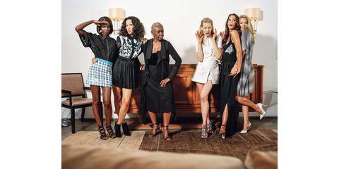 Clothing, Leg, Outerwear, Style, Fashion accessory, Collar, Dress, Fashion, Youth, Fashion design,