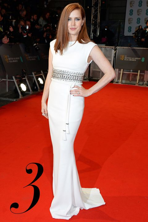 LONDON, ENGLAND - FEBRUARY 08:  Amy Adams attends the EE British Academy Film Awards at The Royal Opera House on February 8, 2015 in London, England.  (Photo by David M. Benett/Getty Images)