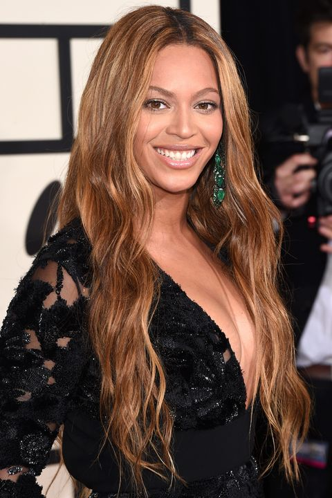 LOS ANGELES, CA - FEBRUARY 08:  Singer Beyonce attends The 57th Annual GRAMMY Awards at the STAPLES Center on February 8, 2015 in Los Angeles, California.  (Photo by Jason Merritt/Getty Images)