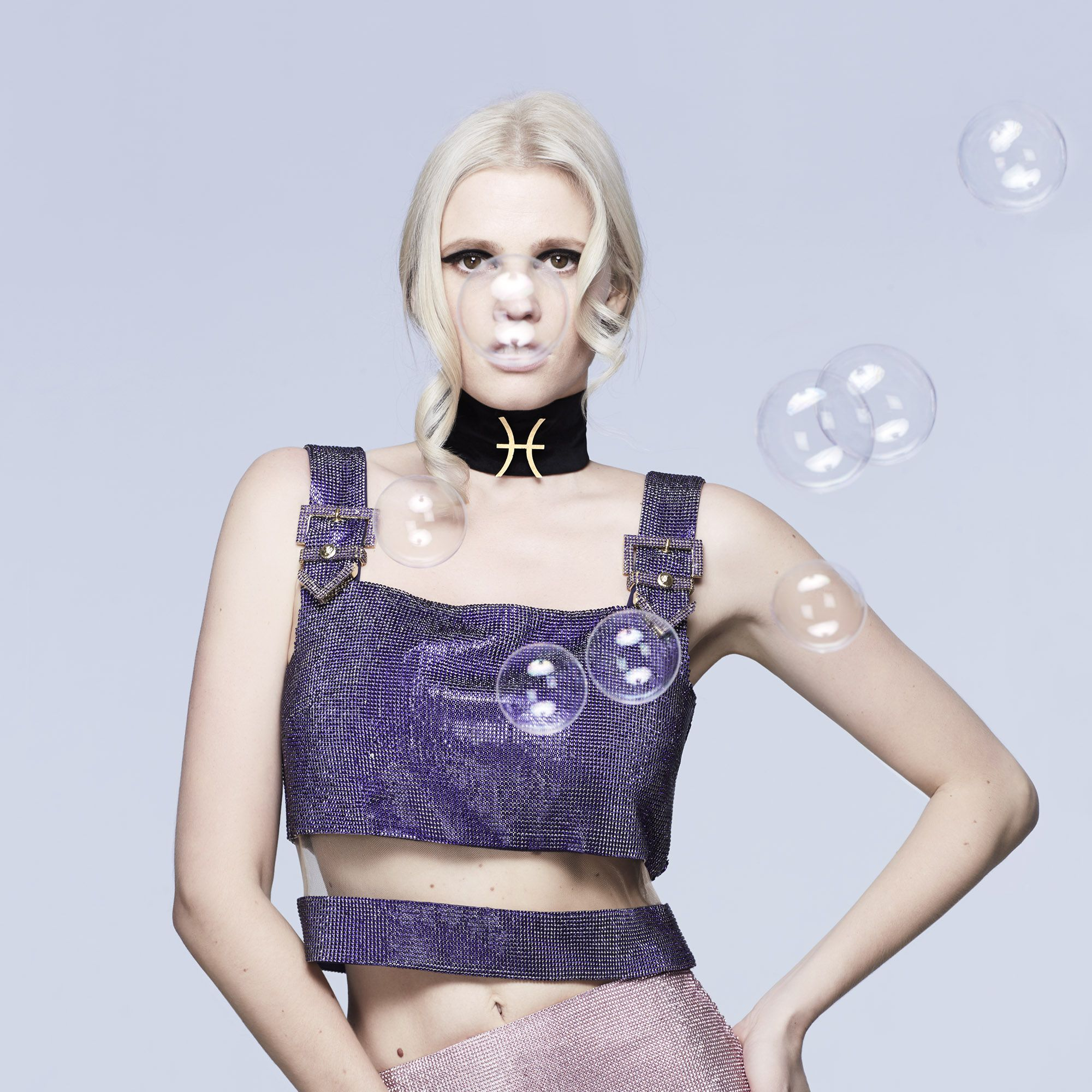 <em>Lara Stone in Versace</em>