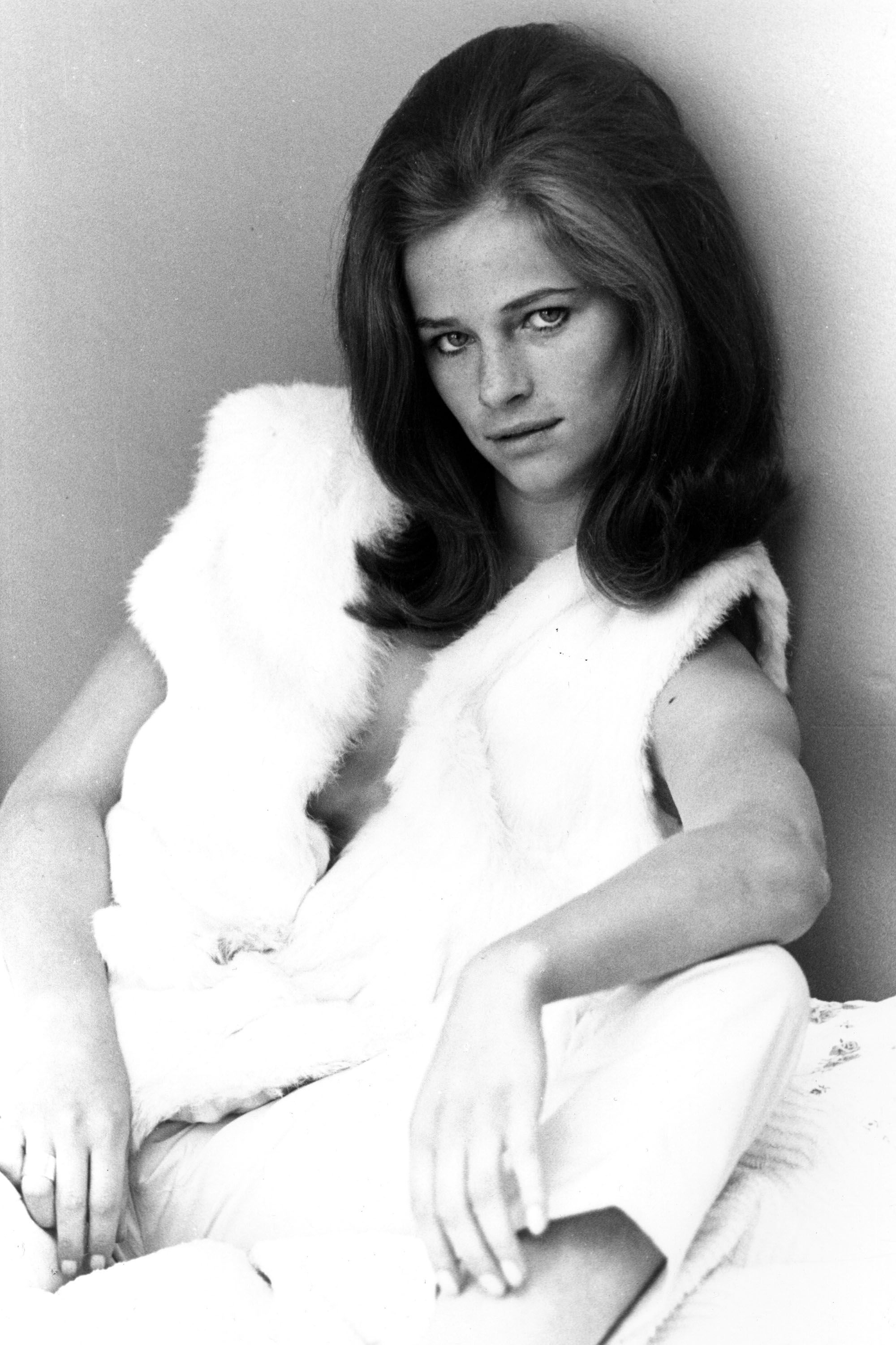 Actress Charlotte Rampling, 1965. (Photo by Michael Ward/Getty Images)