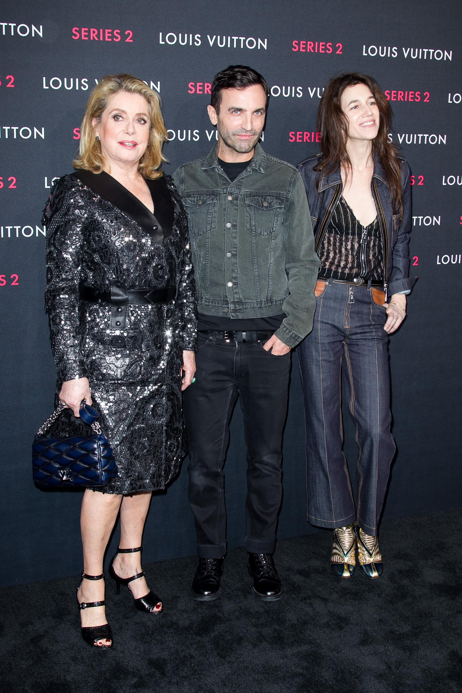 Catherine Deneuve, Nicolas Ghesquire, Charlotte Gainsbourg