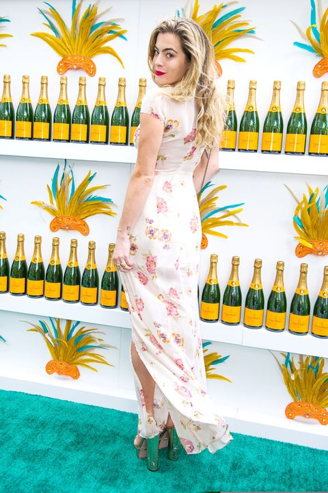 MIAMI BEACH, FL - FEBRUARY 07:  DJ Chelsea Leyland attends Clicquot Carnaval at Thompson Hotel Miami Beach on February 7, 2015 in Miami Beach, Florida.   (Photo by Sergi Alexander/Getty Images)