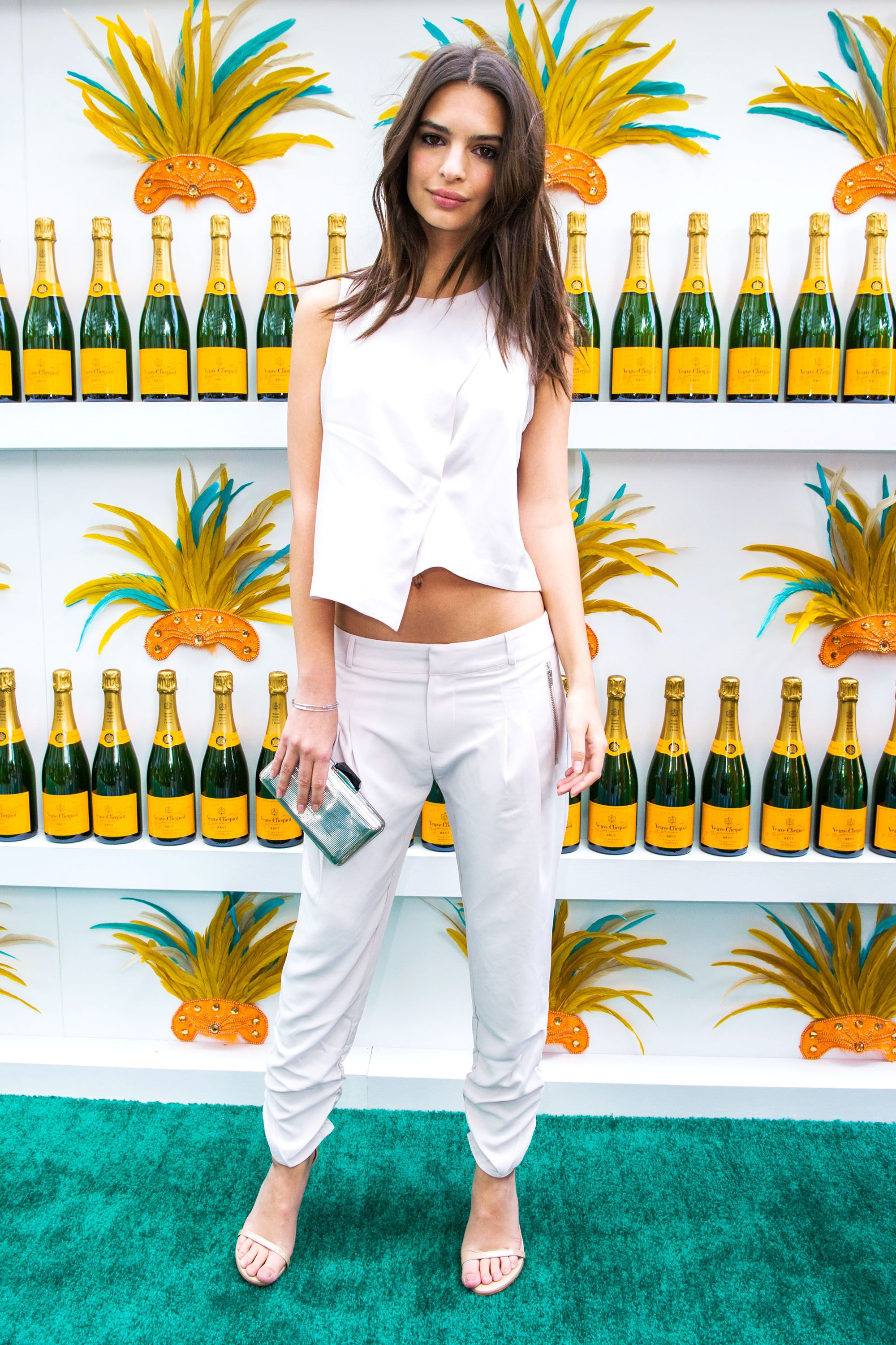 MIAMI BEACH, FL - FEBRUARY 07:  Model Actress Emily Ratajkowski attends Clicquot Carnaval at Thompson Hotel Miami Beach on February 7, 2015 in Miami Beach, Florida.   (Photo by Sergi Alexander/Getty Images)