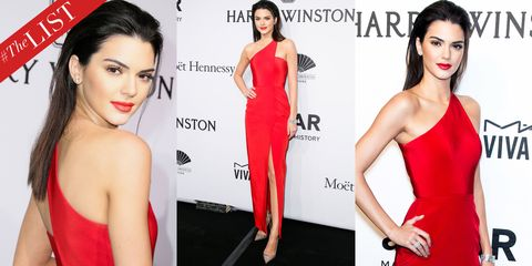 kendall jenner the list
