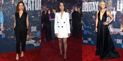 The Best Looks from SNL's 40th Anniversary Red Carpet