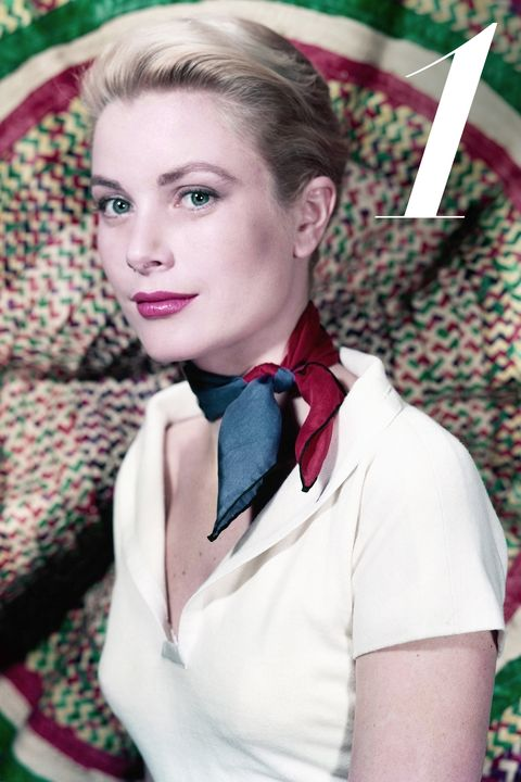 In the early 50s, American actress and princess Grace Kelly breathed life into classic prep fashion with beautifully knotted silk scarves, classic pearls and her always-polished beauty.