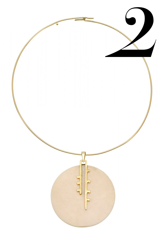 "<em>Jill Heller necklace, $3,650, <a href=""http://shop.harpersbazaar.com/designers/jill-heller/vintage-cartier-pendant-necklace/"" target=""_blank"">shopBAZAAR.com</a>.</em>"