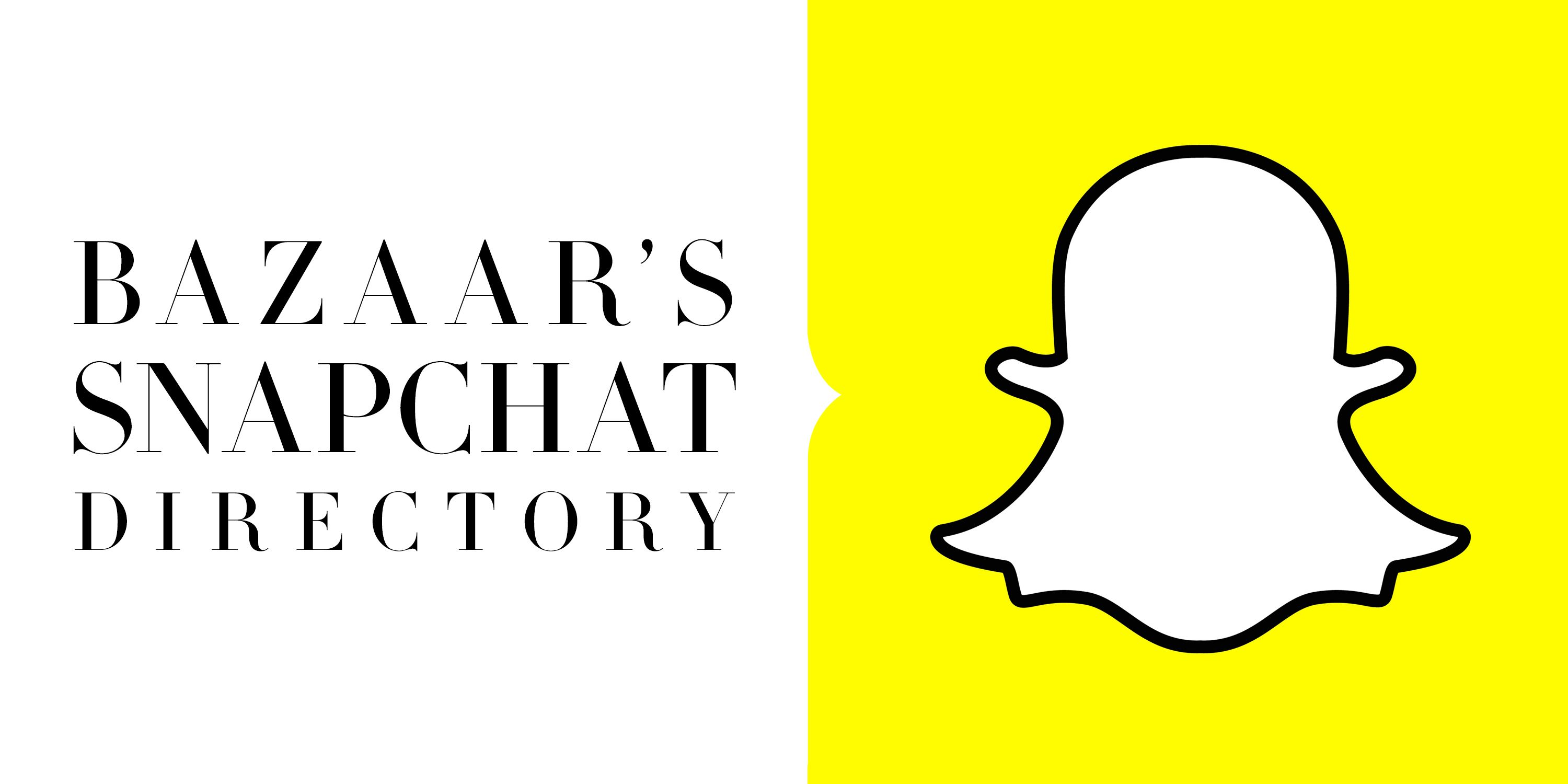 The Best Snapchat Accounts To Follow Who On Bazaar