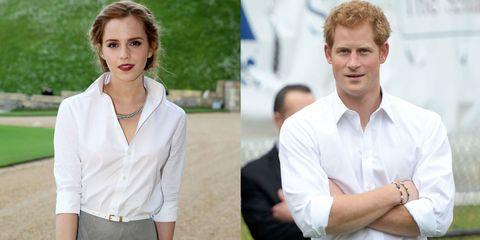 Is Emma Watson Dating Prince Harry?