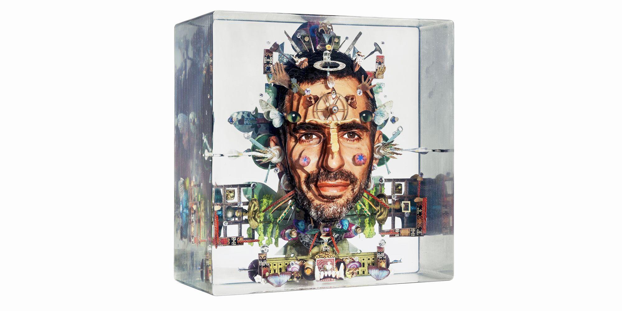 Dustin Yellin Out Of The Box