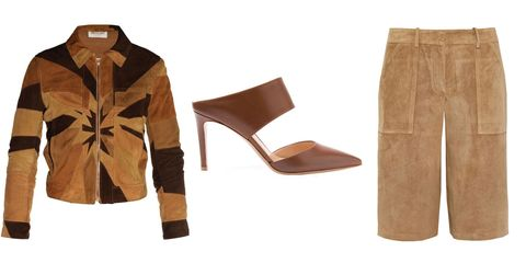 Brown, Collar, Tan, Khaki, Liver, Beige, Leather, Boot, Plywood, Button,