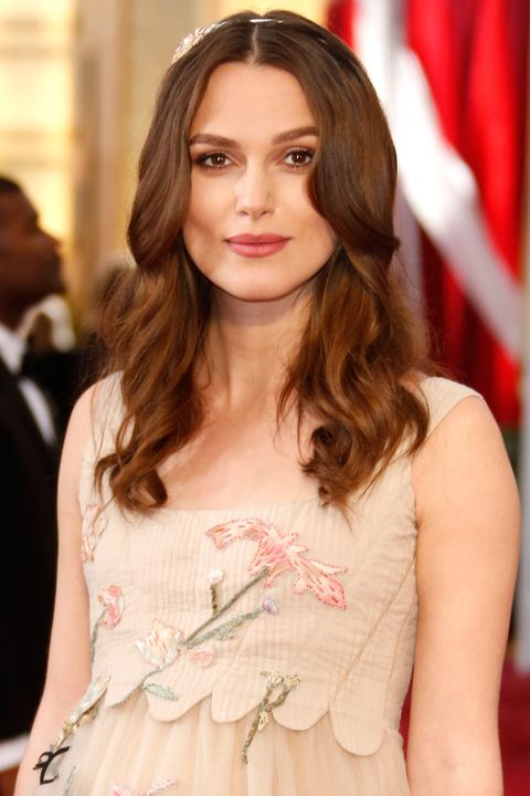 HOLLYWOOD, CA - FEBRUARY 22:  Actress Keira Knightley attends the 87th Annual Academy Awards at Hollywood & Highland Center on February 22, 2015 in Hollywood, California.  (Photo by Jeff Vespa/WireImage)