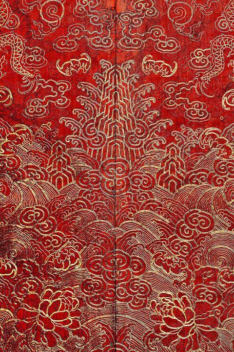 hbz-china-02 Detail of Court Robe Chinese