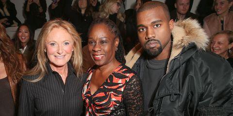 Kanye West, Chirlane McCray, Ricky Lauren