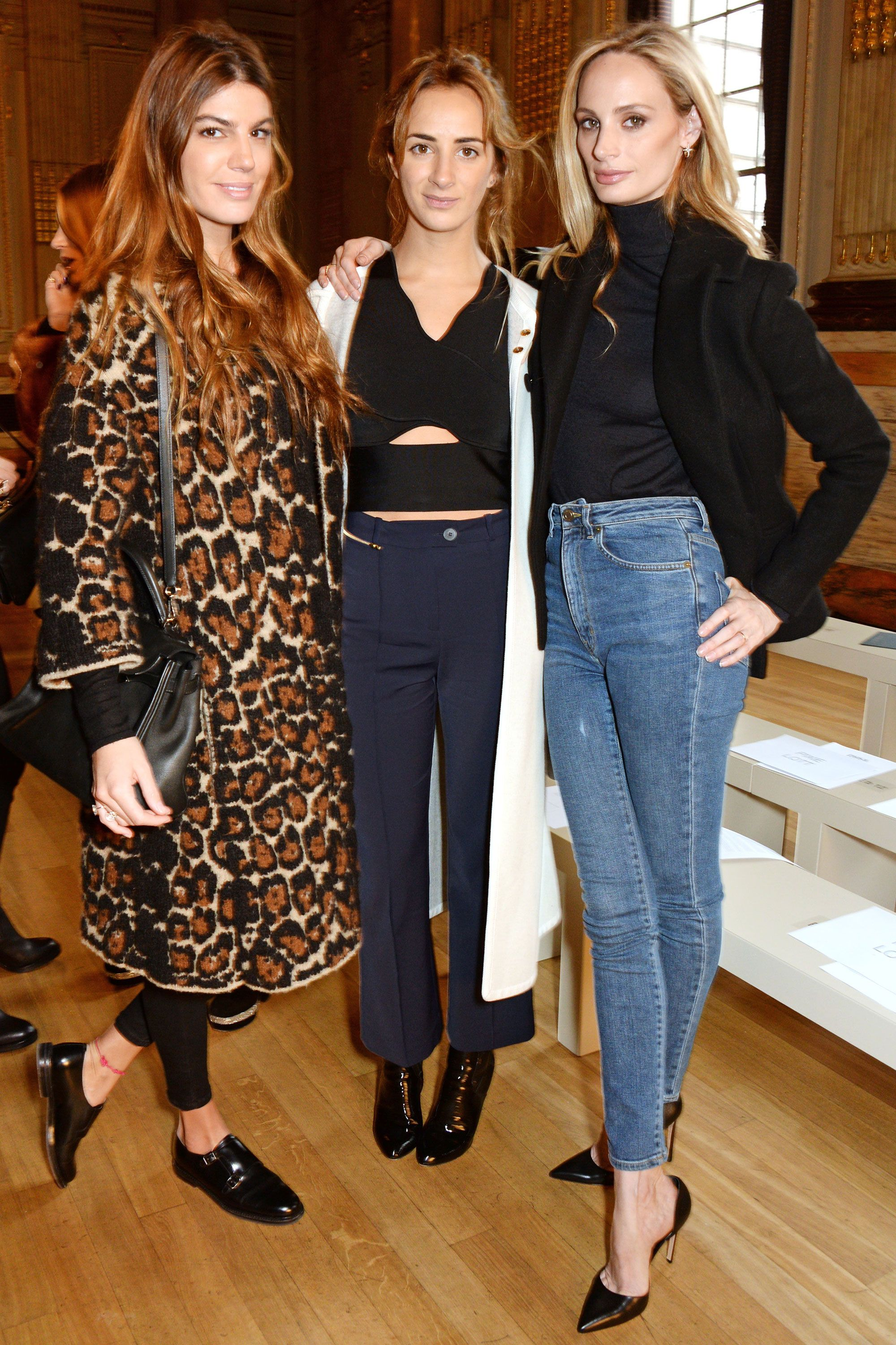 London Fashion Week Party Picutres - London Fashion Week Front Row Style