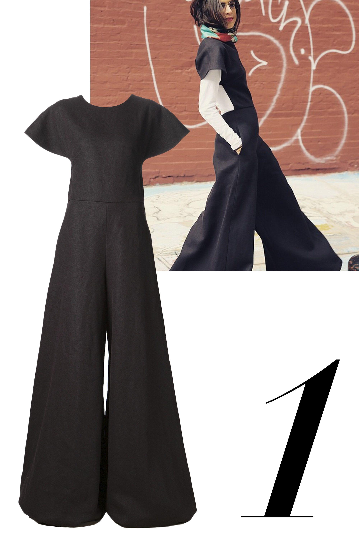 "<a href=""http://instagram.com/manrepeller/"" target=""_blank"">@manrepeller</a>  <em>Rosie Assoulin dress, $1,995, <a href=""http://shop.harpersbazaar.com/designers/rosie-assoulin/flared-cutout-jumpsuit/"" target=""_blank"">shopBAZAAR.com</a>.</em>"