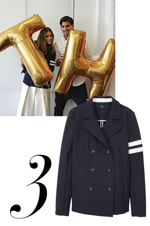 """<a href=""""http://instagram.com/oliviapalermo/"""" target=""""_blank"""">@oliviapalermo</a>  <em>Tibi jacket, $898, <a href=""""http://shop.harpersbazaar.com/designers/tibi/luxe-navy-peacoat/"""" target=""""_blank"""">shopBAZAAR.com</a>.</em>  <a href=""""http://instagram.com/oliviapalermo/"""" target=""""_blank""""> </a>"""