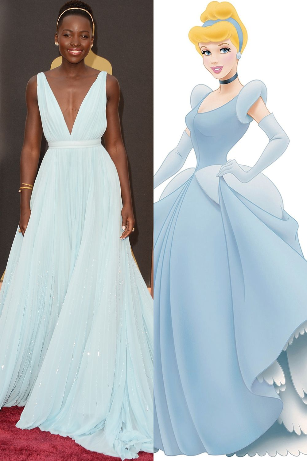 Lupita Nyong'o in Prada as <em>Cinderella. </em>