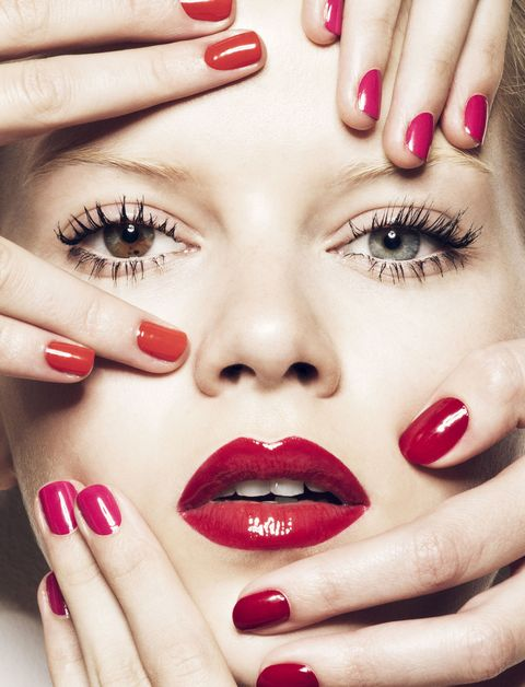 Matching Nail Polish And Lipstick Combinations Nail Colors For Spring 2015