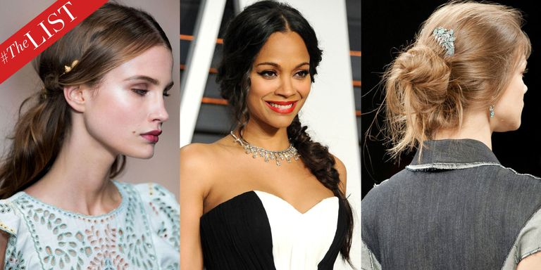 10 Spring Wedding Hairstyle Ideas - Best Celebrity and Runway ...