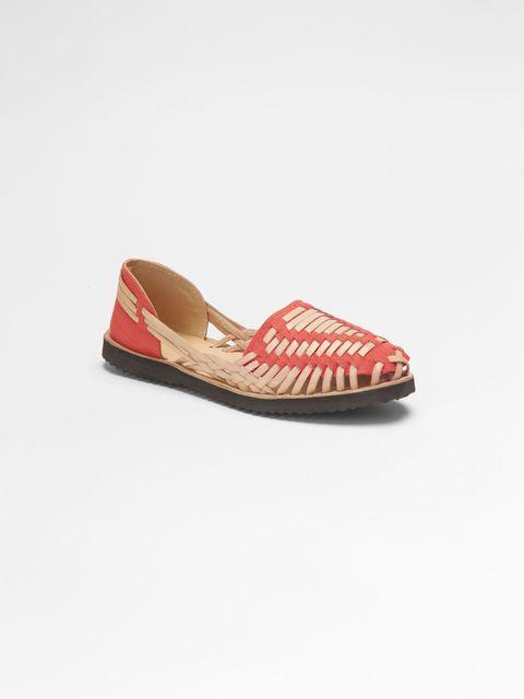 Footwear, Brown, Tan, Carmine, Maroon, Pattern, Beige, Coquelicot, Walking shoe, Stitch,