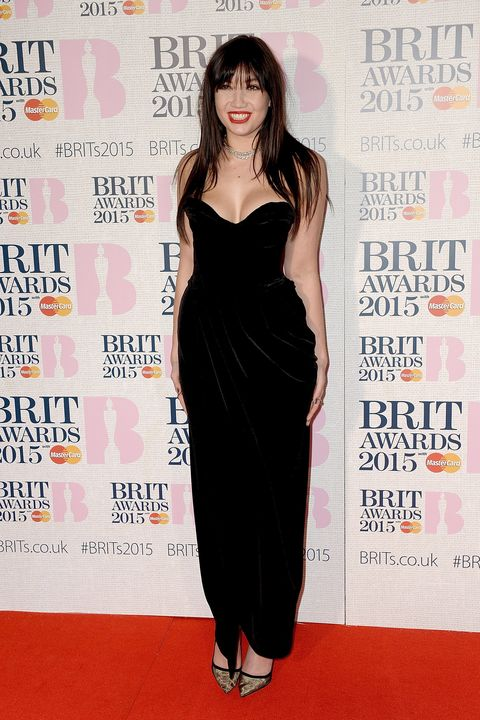 LONDON, ENGLAND - FEBRUARY 25:  Daisy Lowe attends the BRIT Awards 2015 at The O2 Arena on February 25, 2015 in London, England.  (Photo by Dave J Hogan/Getty Images)