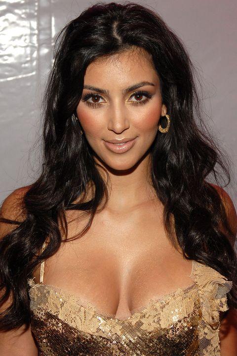 Kim Kardashian Short Black Hair