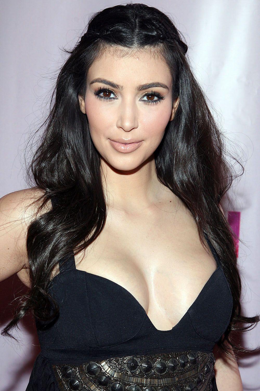 Kim Kardashian\'s Makeup and Hairstyles - Pictures of Kim ...