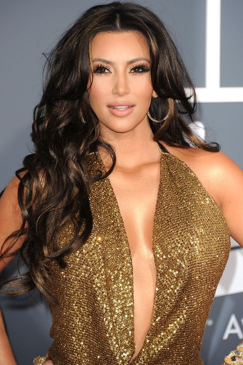 Kim Kardashians Makeup And Hairstyles Pictures Of Kim