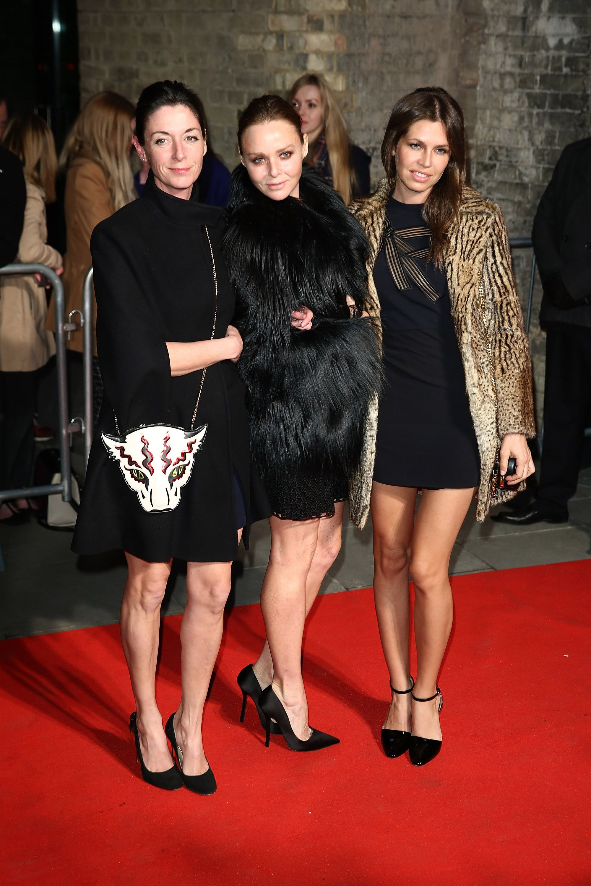 LONDON, ENGLAND - FEBRUARY 24:  (L-R) Mary McCartney, Stella McCartney and Dasha Zhukova attend The World's First Fabulous Fund Fair in aid of The Naked Heart Foundation at The Roundhouse on February 24, 2015 in London, England.  (Photo by Tim Whitby/Getty Images)