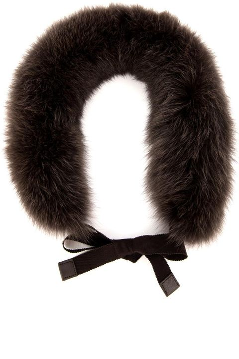 "<strong>S&nbsp;Max Mara</strong> fur scarf, $541, <a href=""http://www.matchesfashion.com/product/209327"">matchesfashion.com.&nbsp;</a>"