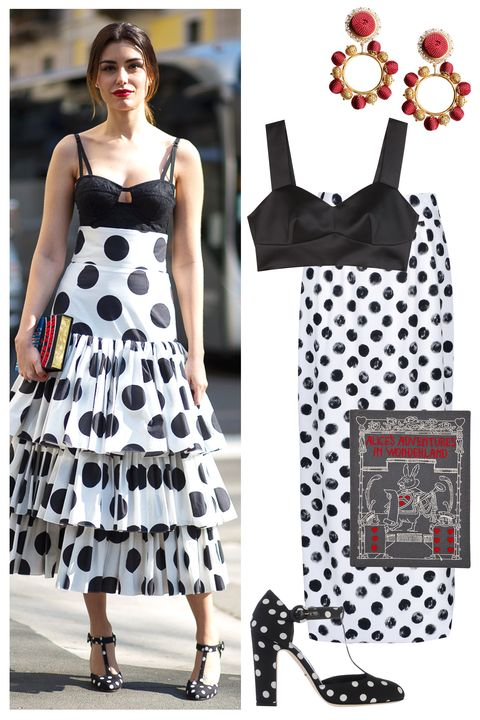 new styles eaa95 b43ed Shop Polka Dot Street Style - Shop Street Style at Milan ...