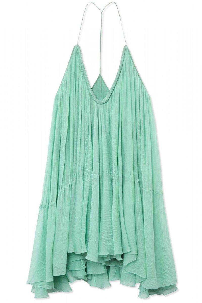 "<strong>Chloé</strong> dress, $2,795, <a href=""http://www.brownsfashion.com/product/012N09800005/139/fluid-silk-dress"" target=""_blank"">brownsfashion.com</a>."