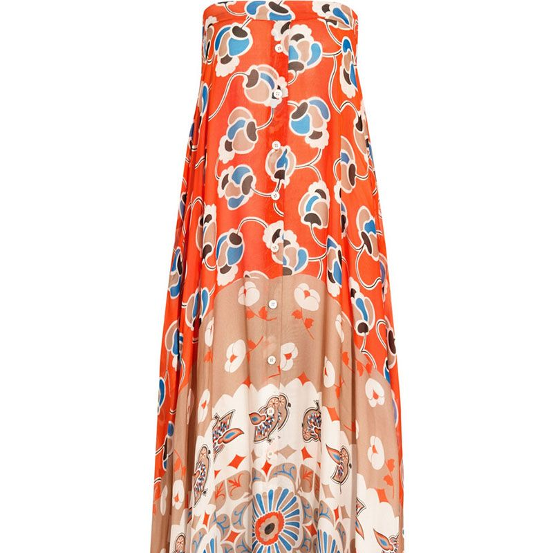 "<strong>Paul &amp&#x3B; Joe</strong> dress, $1,125, <a href=""http://www.net-a-porter.com/product/542733/Paul_and_Joe/infini-printed-silk-chiffon-maxi-dress"" target=""_blank"">netaporter.com</a>."