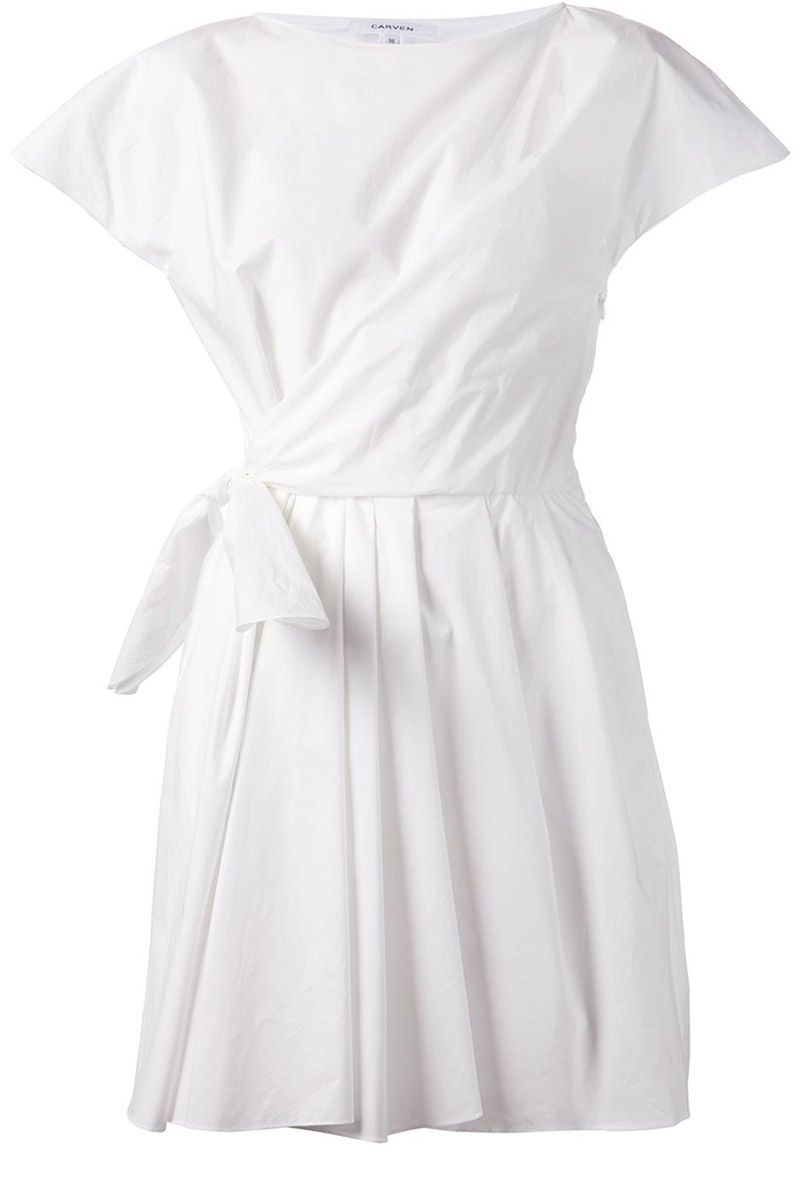 "Trade in your LBD for a LWD during the warmer months.   <strong>Carven</strong> Side Tie Dress, $570, <a href=""http://www.farfetch.com/shopping/women/carven-side-tie-dress-item-10922510.aspx?storeid=9468&ffref=lp_91_"">farfetch.com</a>.  <div itemscope="""" itemtype=""http://schema.org/Offer"" style=""color: rgb(34, 34, 34); font-family: Polaris-Book, sans-serif; font-size: 13px; letter-spacing: normal;""> <div itemprop=""price"" class=""detail-price "" style=""font-size: 1.6rem;""> </div> </div>"