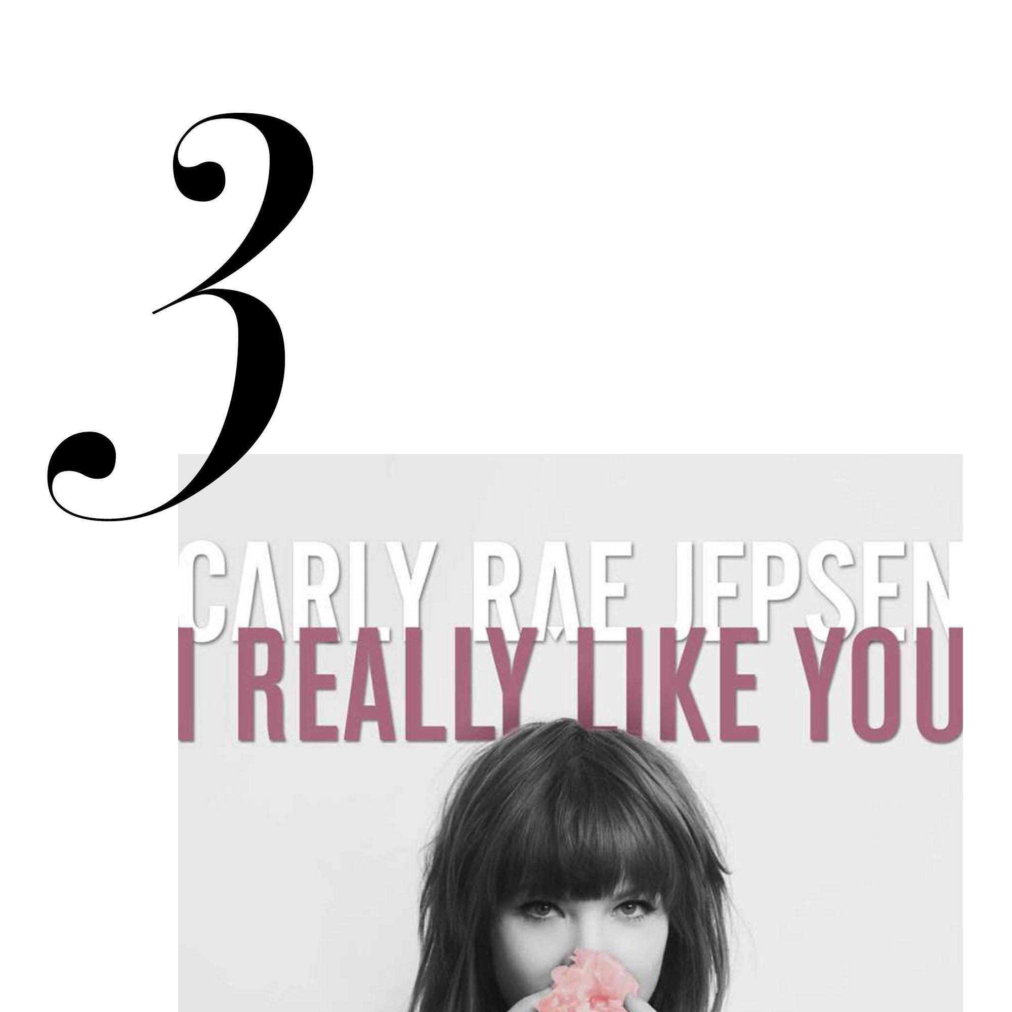 """I Really Like You""<a href=""http://open.spotify.com/track/3O09PoBmmhotSUxLZfcRP0"">Listen here</a>.&nbsp&#x3B;"