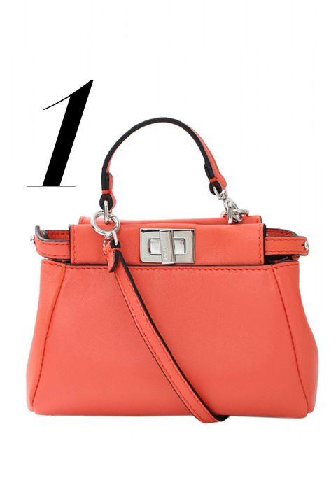 "<p><em>Fendi bag, $1,550, <a href=""http://shop.harpersbazaar.com/designers/fendi/micro-peekaboo-bag/"" target=""_blank"">shopBAZAAR.com</a>.</em></p>"