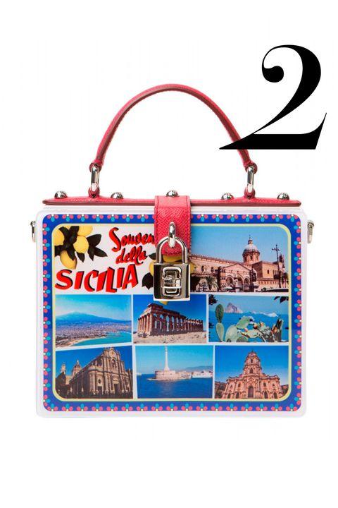"<p><em>Dolce &amp; Gabbana bag, $2,795, <a href=""http://shop.harpersbazaar.com/designers/dolce-gabbana/postcard-box-clutch/"" target=""_blank"">shopBAZAAR.com</a>.</em></p>"