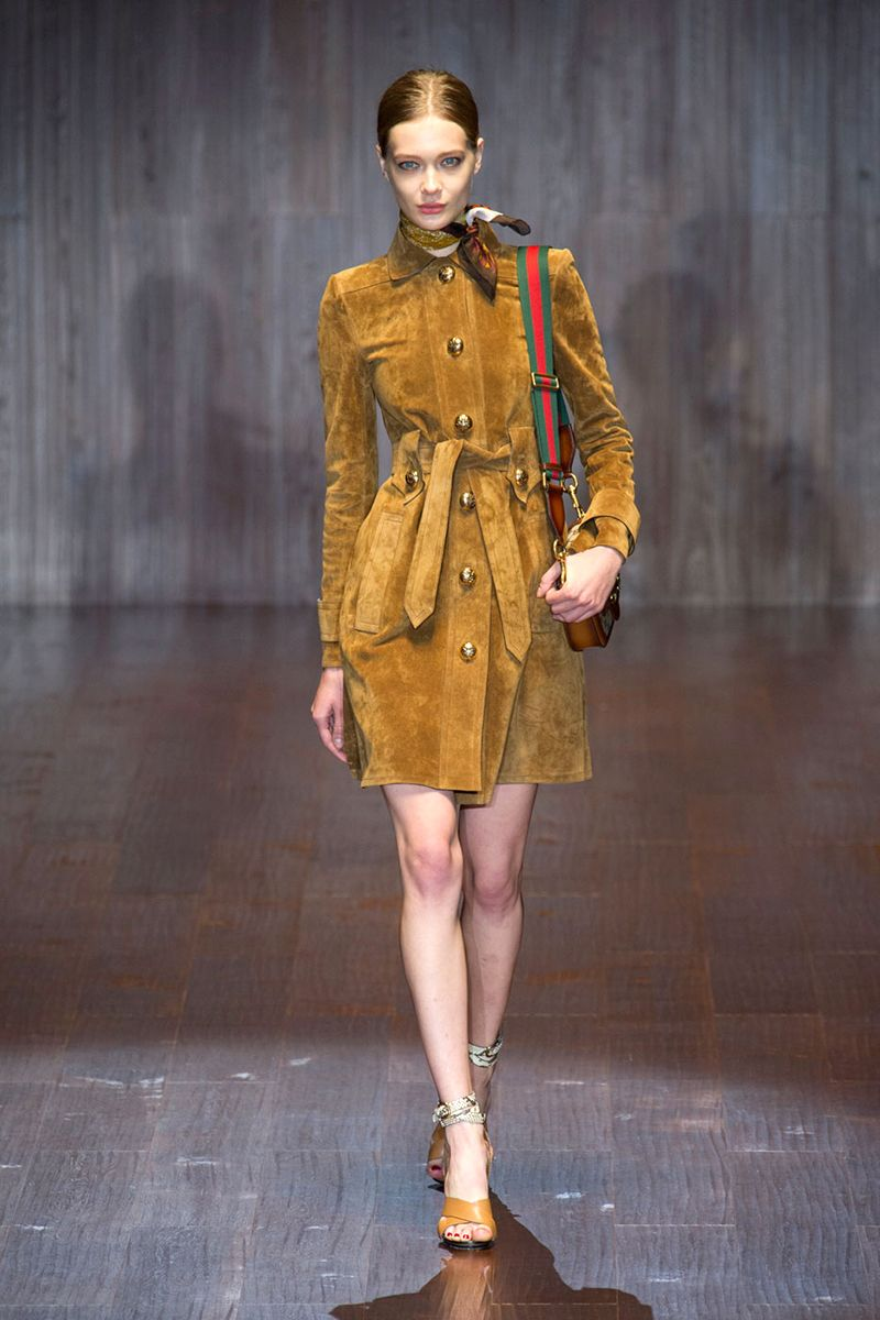 """""""The focus of this season for shopBAZAAR is taken right from the runways–the 1970s revival. Suede, fringe, rich cognac hues and flares are what we are buying in bulk."""""""