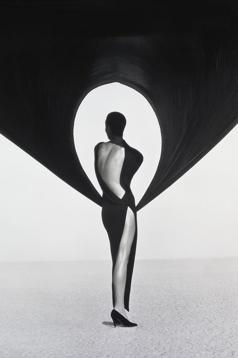 Versace Dress, Back View, El Mirage
