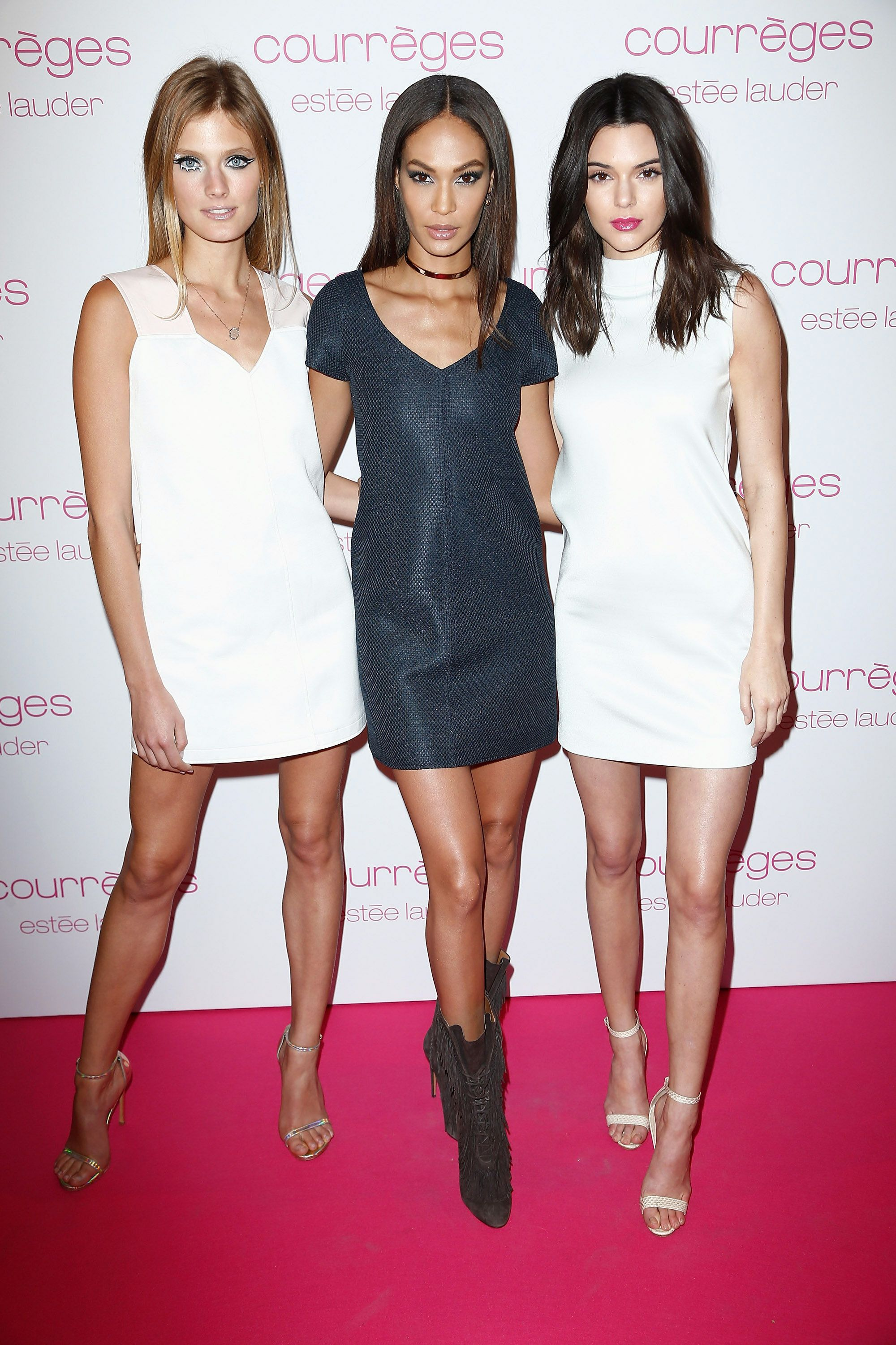 Constance Jablonski, Joan Smalls and Kendall Jenner